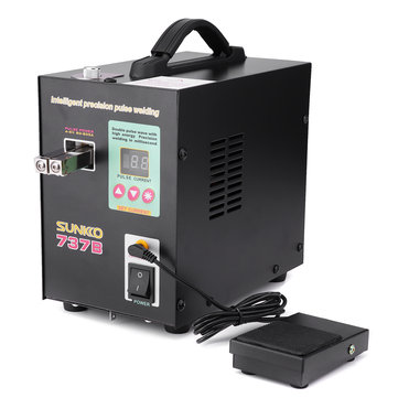 S737B High-power Handheld 18650 Battery Welding Machine LED Mobile Spot Welding Equipment