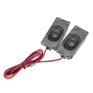3 Pair 4 Ohm 3W LCD Panel Speaker Amplifier Audio Frequency Output For V29 / V56 / V59