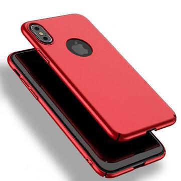 BakeeyUltradunneanti-fingerprinthardepcachterkant voor iPhoneX