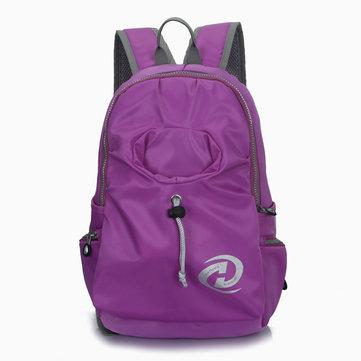 Женщины Нейлон Повседневный Рюкзак для ноутбука Путешествия ранец