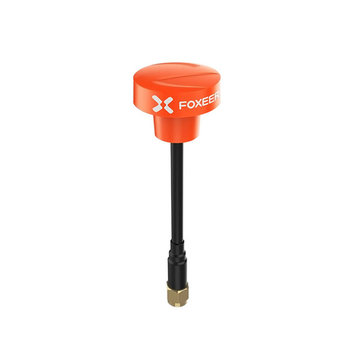 Foxeer Pagoda Pro 5.8GHz 2dBi RHCP FPV Antenna 68mm SMA/RP-SMA Black/Red/Orange