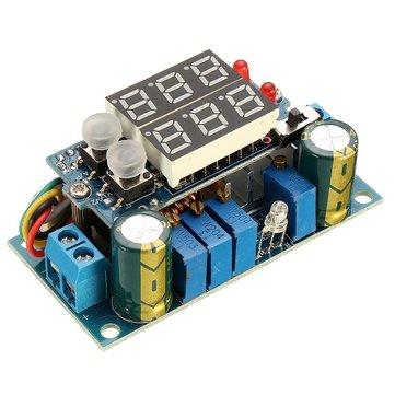 MPPT Solar Panel Controller 5A DC-DC Step Down CC/CV Charging Module Display LED