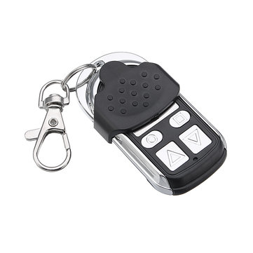 Universal 4 Buttons 433MHz Electric Remote Control Switch Key Fob with Chip Garage Door