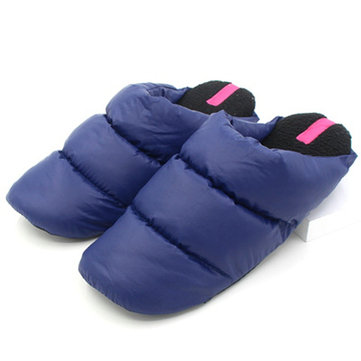 Couple Shoes Cotton Keep Warm Home Indoor Comfortable Slip On Slippers