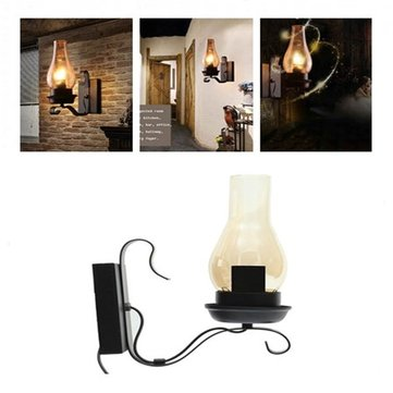 Vintage Unique Style Industrial Rustic Copper Steampunk Wall Light for Living Room Bedroom Pathway