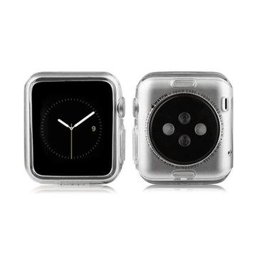 Ultra Thin High-transparent TPU Protective Case Cover for Apple Watch 42 mm