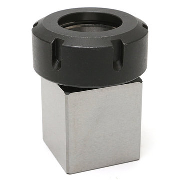 Hard Steel Square ER-40 Collect Chuck Block CNC Lathe Tool Holder