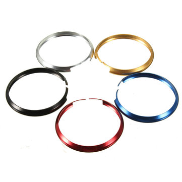 Aluminum Protective Key Clip Ring For MINI Cooper JCW R55 R56 R57 R58 R59 R60
