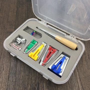다기능 방수 테이프 메이커 바인딩 도구 재봉틀 세트 퀼트 재봉 바느질 도구