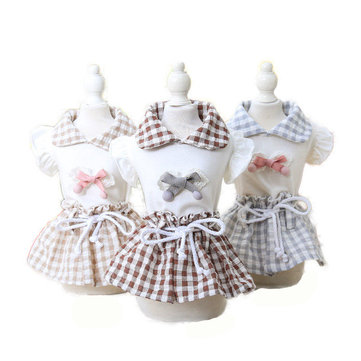 Summer Princess Maid Dress Dog Dress Pet Products Clothes For Dog Pet Dog Clothing