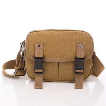 Vintage Canvas Casual Shoulder Bag Crossbody Bag For Men