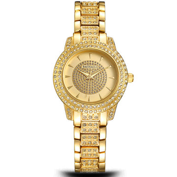 BAOSAILI BSL962 Fashion Women Watch Luxury Ladies Rhinestones Alloy Quartz Wrist Watch