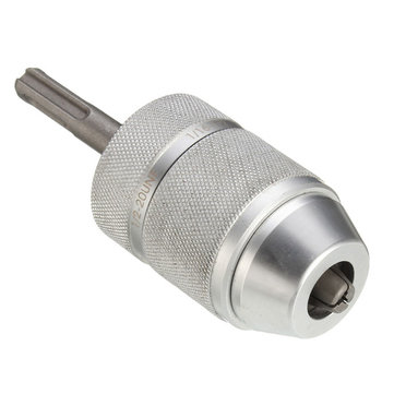 2-13mm Keyless Impact Drill Chuck Adaptor with Rod for Electric Hammer Drill Tool Accessories