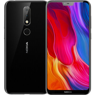 US$179.99 31% NOKIA X6 Dual Rear Camera Face Unlock 5.8 inch 4GB 64GB Snapdragon 636 Octa Core 4G Smartphone Smartphones from Mobile Phones & Accessories on banggood.com