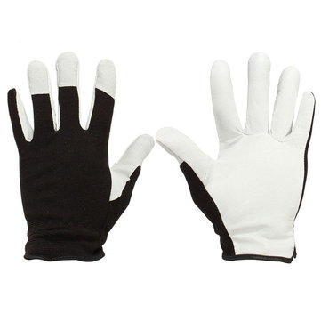 Pigskin Leather Working Gloves Coat Leather Gardening Gloves Mechanic Gloves M L XL for Work Sports