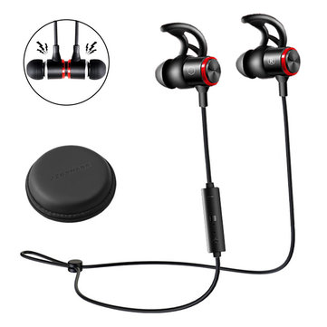 E3B Magnetic Wireless Bluetooth Earphone In-ear Stereo Sweatproof Music Headset Headphones With Mic