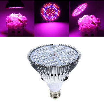 45W E27 Full Spectrum LED Plant Grow Lights Bulb Veg Hydroponic Lamps