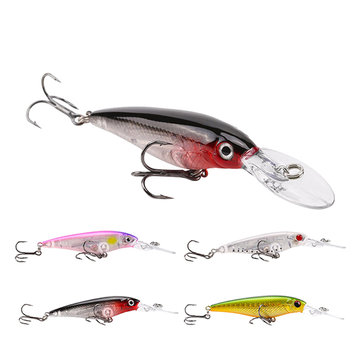 SeaKnight SK031 1PC 5.9g 60mm 1.2M Suspending Minnow Fishing Lure Minnow Hard Bait Hooks