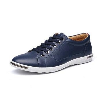 Плоские оксфордские туфли зашнуровывают чистый цветной круглый носок для мужчин US Размер 6.5-12
