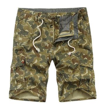 บุรุษผู้ดี Outdooors ลวงตาหลายพ็อกเก็ตกระโปรงยาวลำลองกางเกงขาสั้นสินค้าคอลเลกชัน