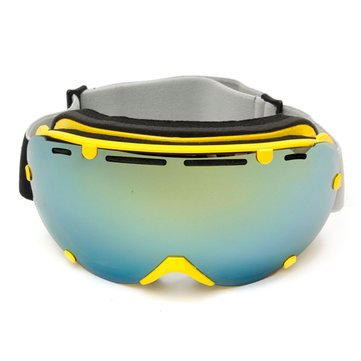Unisex Anti Fog UV Dual Lens Winter Racing Outdooors Snowboard Ski Goggles Sun Glassess CRG101-4