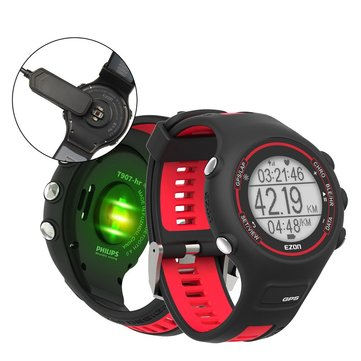 EZON T907 Digital Watch Men Sports Heart Rate Monitor 50M Waterproof Stopwatch Wrist Watch