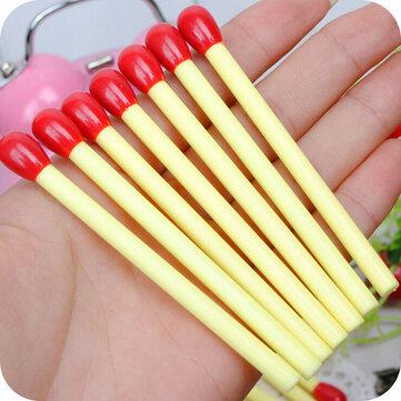1pcs Match Shape Cute Mini Stick Ballpoint Pen Korean Creative Children Stationery Supplies