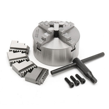 US$123.61SANOU K12-125 125mm 4 Jaw Self Centering Lathe Chuck with KeyMechanical PartsfromTools, Industrial & Scientificon banggood.com