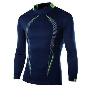 Men's Quick-drying Tights Long-sleeved Sports T-Shirts Training Suits