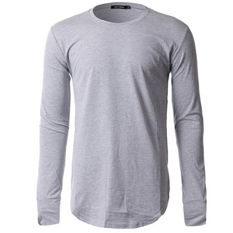 Men Fashion Cotton Solid Color O-neck T-shirts