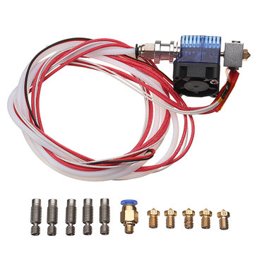 12V/40W V6 J-head Hotend Extruder Kit For Reprap 3D Printer
