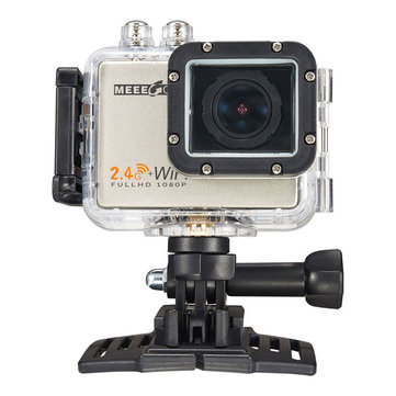 Meeegou Mee Plus 5 12MP 170 Degree Wide Angle 4K 1080P 60FPS HD WIFI Sport Action Camera Built-in Mic Speaker