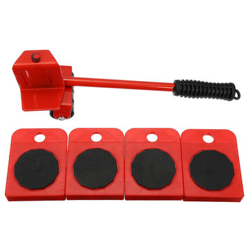 5Pcs Furniture Transport Set Removal Lifting Moving Tool Heavy Move House 150KG