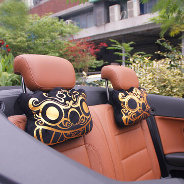 WenTongZi Pi Xiu Car Head Rest Car Front Seat Head Rest Pillow