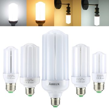 ARILUX® E27 5W 10W 15W 20W 25W SMD2835 Constant Current LED Corn Light Bulb AC85-265V