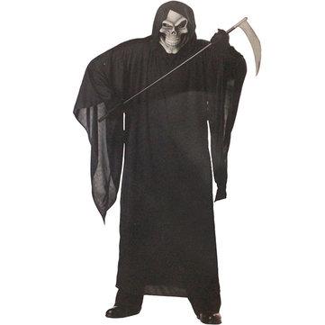 Grim Reaper Robe Lifelike Halloween Costumes Clothing