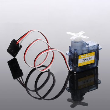 3.7G Micro Light Servo 1KG Torque DP0037 Coreless Motor With Arm For RC Airplane