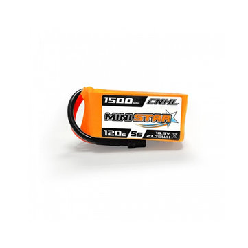 CNHL MiniStar 18.5V 1500mAh 5S 120C Lipo battery XT60U Plug for RC Drone FPV Racing