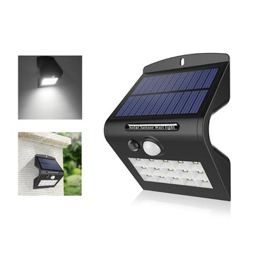 ARILUX® AL-SL18 1W Solar 15 LED PIR Motion Sensor Security Wall Light Waterproof for Outdoor Garden