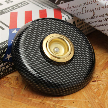 Imitation Carbon Fiber Metal Eye Anti-Slip Mat For Cello