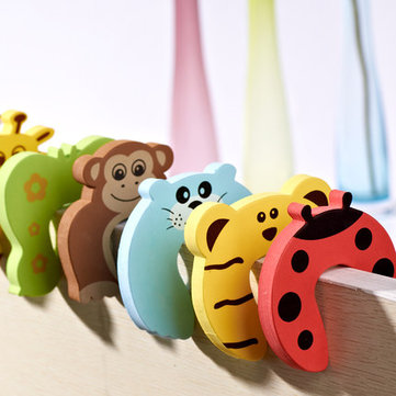 Children Safety Door Jammer Stopper Child Kids Security Protector Finger Corner Guard
