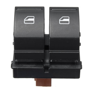 Driver Side Electric Window Doubble Button Switch For SKODA FABIA MK2 ROOMSTER