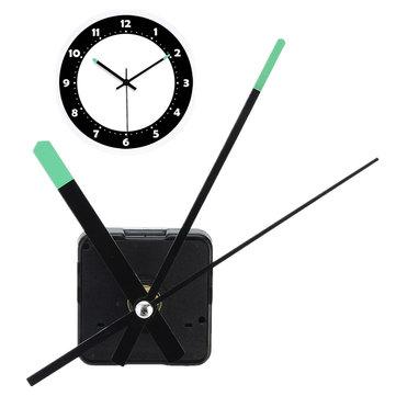 Replacement DIY Quartz Clock Movement Mechanism Motor Kit With Luminous Hands