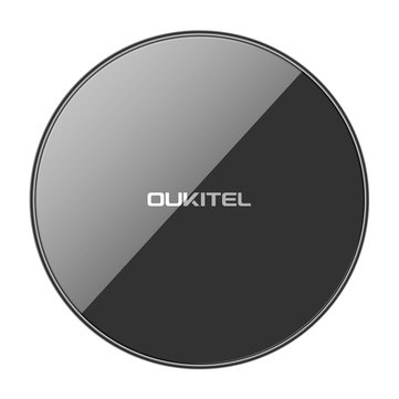 Oukitel S1 10W Ultra Thin Double Coil Qi Wireless Charger Fast Charging Pad For iphone X 8/8Plus Samsung S8