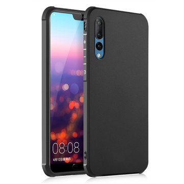 Bakeey™ Shockproof Soft TPU Back Cover Protective Case for Huawei P20 Pro