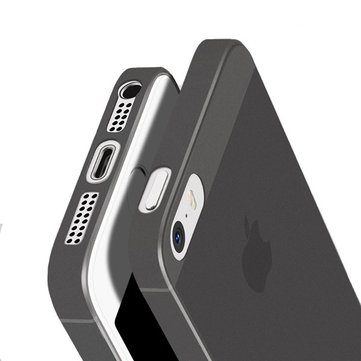 Cafele 0.4mm Micro Mat Anti Vingerafdruk PP Case Voor iPhone 5 / 5s / SE