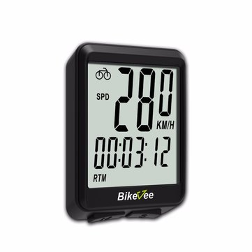 Bikevee BKV-1507 Wireless 15 Functions LCD Digital Odometer Bike Computer Entry Level Computer