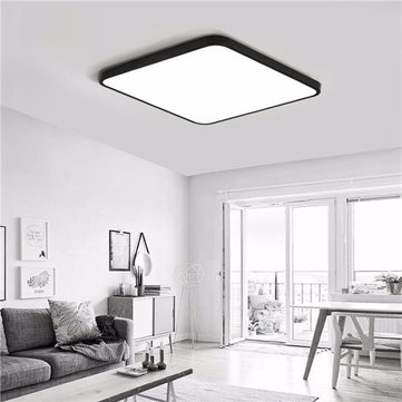 30W Modern Dimming LED Ceiling Lights Surface Mount Lamp with Remote Control for Bedroom Bar