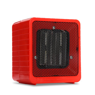 220V 500W Electric Mini Fan Space Heater Portable Winter Warm Home Office Desktop