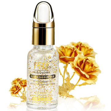 A QIONG 24K Gold Foil HyaluronicAcid Moisturizing Whitening Essence